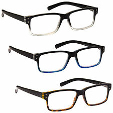 UV Reader Reading Glasses Special Offer Wayfarer Style Mens Womens