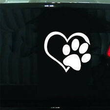 Paw Heart Pattern Decal  Animal Lover Cats Dogs Sticker Window  Car Hot Sale