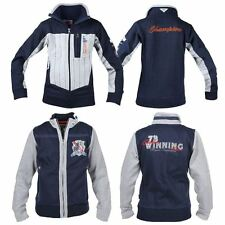 Red Horse Kids Boys Yankee 100% Cotton Embroided Vests & Outdoor Riding Jackets