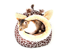 Pet Bed Dog Nest Puppy House Soft Fleece Sofa Cat Warm Cozy Nest Kennel Doghouse