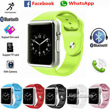 W8 Bluetooth Smart Watch Phone For iPhone Android Samsung HTC Camera SIM TF Slot