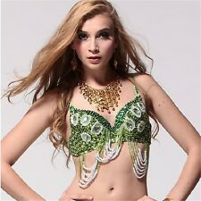 Belly dance 8-gems Bra Top Costume