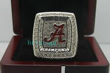 2015 Alabama Crimson Tide SEC Football Championship Ring SABAN Size 8-14 Solid