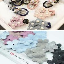 30pcs Fabric Flower Embellishment For Hair Bow Wedding Sewing Applique Craft DIY