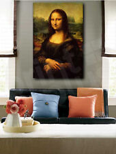 Leonardo da Vinci Mona Lisa Reproduction Art Canvas Poster Print Wall Decor