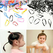 400pc Kids Girl Rubber Hairband Rope Hair Band Ties Ponytail Holder Braids Hot