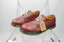 Men's Vintage Made In England Dr Martens Cherry Red Leather Shoes Size UK 9
