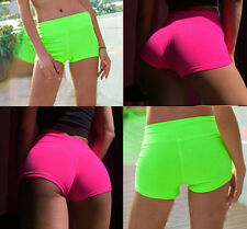 Pants Women Yoga Sports Shorts Waistband  Short Skinny Gym Workout  Summer New