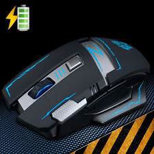 Rechargeable 2.4GHz Wireless 2400DPI Silent Cordless Optical Usb Gaming Mouse