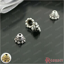 100PCS 7*5MM,Height:5MM Zinc Alloy Bead Caps Jewelry Findings Accessories 26931