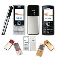 Great Condition Nokia Brand 6300 Unlocked Camera Bluetooth Mobile Cell Bar Phone