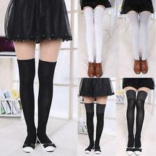 Womens Girl Sexy Tube High Socks Thigh High Hosiery Lady Stockings Over The Knee