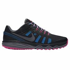Nike Dual Fusion Trail 2 Black Pink Womens Trainers