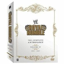 WWE Royal Rumble - The Complete Anthology, Vol. 4, Acceptable DVD, John Cena, Ba
