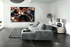 Circles Abstract Art Canvas Print Home Wall Decor Giclee Art Print