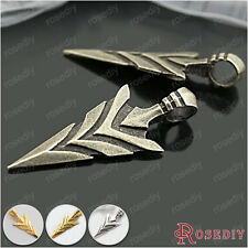 6PCS 47*20MM Zinc Alloy Arrow Pendants Jewelry Findings Accessories 26812
