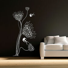MUMS and SWALLOWS - Vinyl Wall Art Decals Stickers Tint