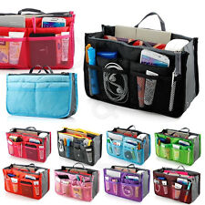 Portable Tools Cosmetic Organizer Double Zipper Storage Makeup Travel Wash Bags