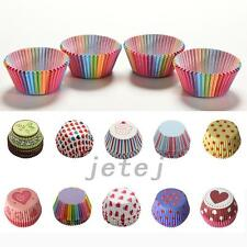 Practical 100pcs Paper Cake Cupcake Liner Case Wrapper Muffin Baking Cup Party