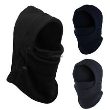 Outdoor Sports Winter Ski Thermal Fleece Balaclava Full Face Neck Mask Hat Cap W