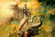 Angel Defender - CANVAS OR PRINT WALL ART