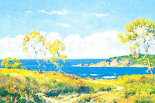The Path Along The Shore-Braun - - CANVAS OR PRINT WALL ART