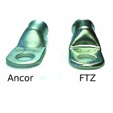 4/0 AWG Premium Tinned Battery Cable Lugs by FTZ - 25 Count