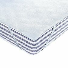 Towelling Mattress Protector, Waterproof Polyurethane Coated