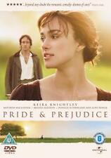 PRIDE & AND PREJUDICE DVD Movie Film 5050582391251