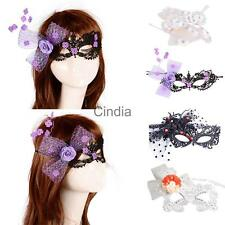 EYE MASK Sexy Lace Venetian Masquerade Ball Halloween Party Fancy Dress Costume