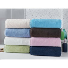 Large Cotton Bath Sheet Towels Soft Plush Shower Sheets Spa Oversized Body Towel