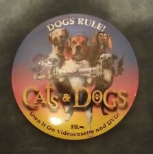 Cats & Dogs Dierbergs DVD release movie Collectible pin