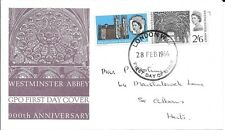 GB 1966 900th Anniversary of Westminster Abbey FDC - London W.C. Handstamp