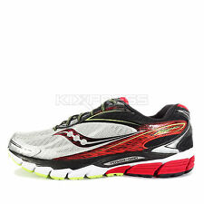 Saucony Ride 8 [S20273-1] Running Silver/Red-Citron