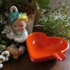 Vintage Goebel Ashtray RARE RF 69/0 Early mark Boy with Red Heart