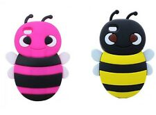Cute 3D Bumble Bee Soft Silicone Skin Case Cover For Apple iPhone 4 4S 4G 4GS