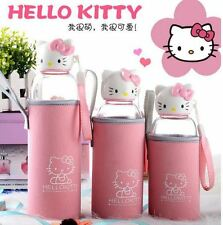 hello kitty glass portable high boron silicon high-temperature cup Water Bottles