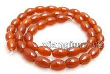 """SALE Genuine 6*9mm Olivary shape Natural Red agate Loose Beads strand 15""""-los672"""
