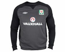 BNWT Umbro mens Wales Welsh Cymru Football Training top sweatshirt hoodie jumper
