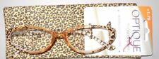 Optique by Foster Grant Reading Glasses Handcrafted W Case Retails $22.99 +1.75