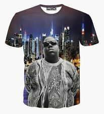 The Notorious B.I.G. Biggie Smalls T-Shirt Big Hip-Hop Rap tee Men Women Unisex