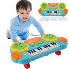 Electronic Baby Kids Music Instrument Toy Battery Organ Keyboard Hand Beat WT88