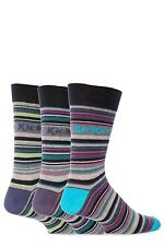 Mens 3 Pair Kickers Belleville Multi Stripe Socks