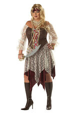 Plus Size South Seas Siren Pirate Adult Halloween Costume