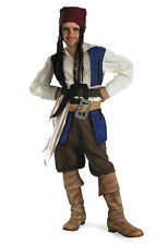 Disney Pirates Caribbean Captain Jack Sparrow Classic Child Costume