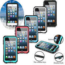 Swimming Shockproof Waterproof Dirtproof Case Cover For iPod Touch 5 6 6th Gen