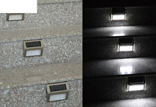 Outdoor Staircase Pathway Garden Yard Stair Led Light Solar Power Home Lamp Wall