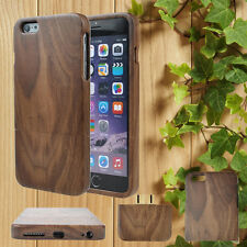 For iPhone 7 6/6S/Plus Handmade Wood Bamboo Hard Case Natural Wooden Shell Cover