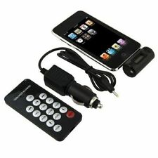 FM Transmitter With Car Charger Remote for iPhone 4S 4 3GS 3G iPod Touch