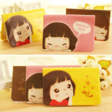 """""""Cookie Girl"""" 12 Slots Cute Id Name Credit Card Holder Case Pouch HOT"""